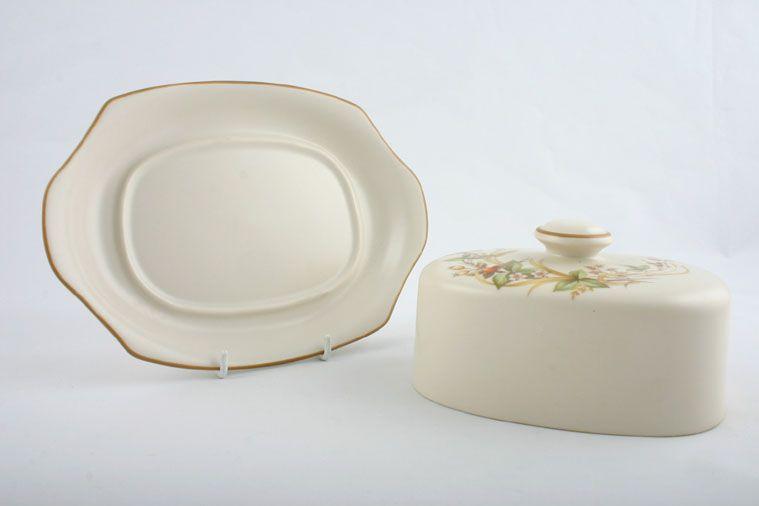Marks And Spencer Wedding Gifts: Marks & Spencer Harvest Butter Dish + Lid Flat Domed Lid
