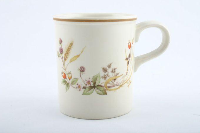"""Marks & Spencer Harvest Mug rimmed top 3 1/4 x 3 7/8"""""""