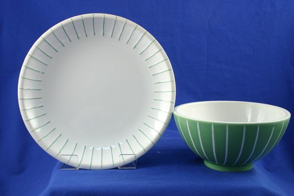 Marks & Spencer Home Series - Green and White