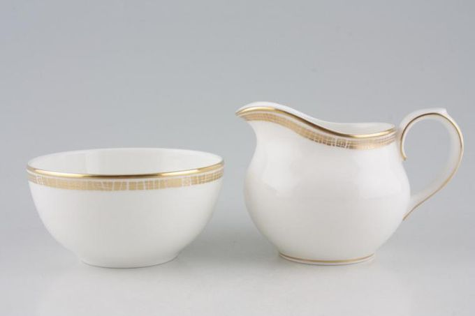 Marks & Spencer Mosaic Milk Jug and Sugar Bowl Set Stock clearance offer. Some seconds.