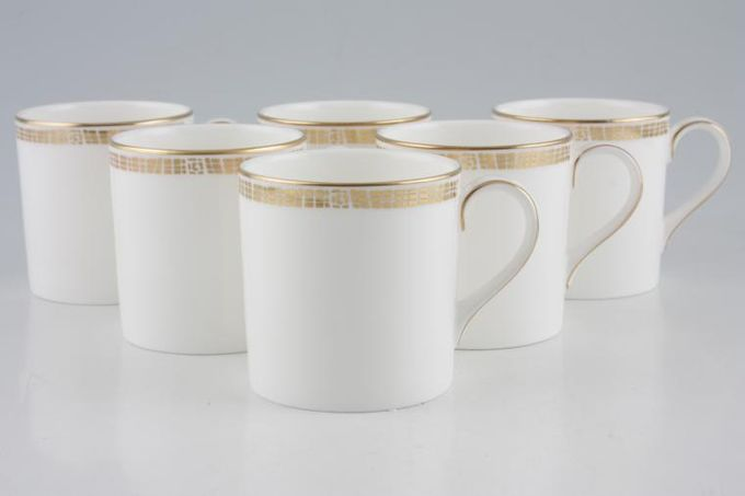 """Marks & Spencer Mosaic Coffee Cans - Set of 6 Stock clearance offer. Some seconds. Cans measure 2 1/2 x 2 5/8""""."""