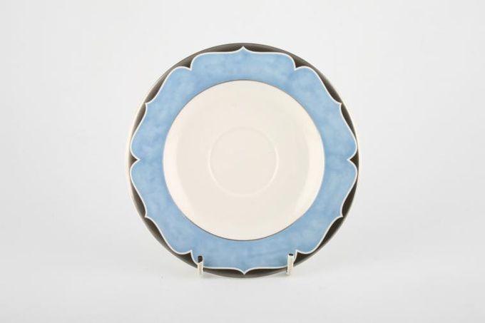 """Marks & Spencer Platinum Arabesque Tea Saucer 6"""""""