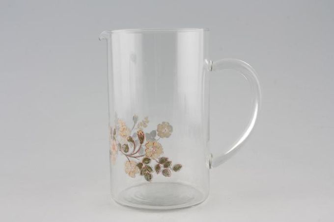 Marks & Spencer Autumn Leaves Glass Pitcher 2 1/2pt