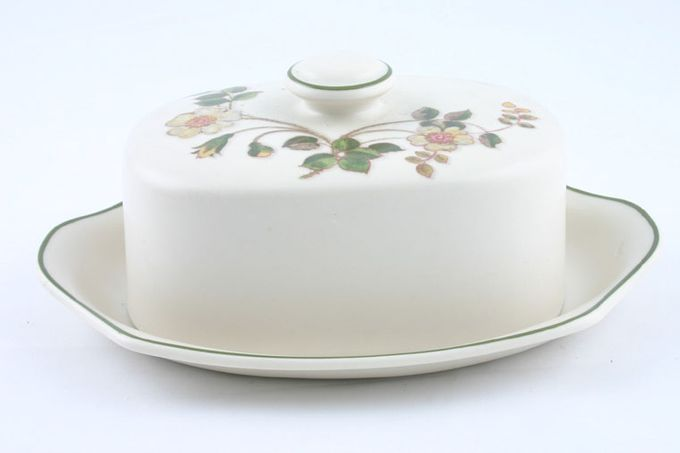 Marks & Spencer Autumn Leaves Butter Dish + Lid