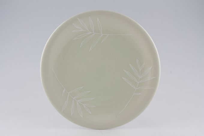 Marks & Spencer Green with White Leaves Dinner Plate 10 1/2""