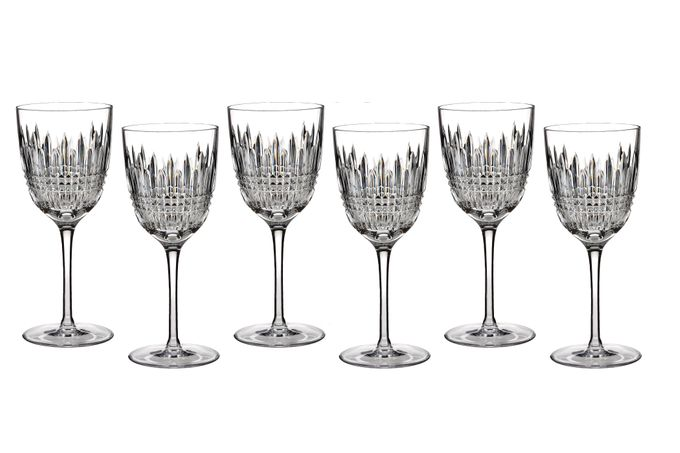 Waterford Lismore Diamond Goblet - Set of 6
