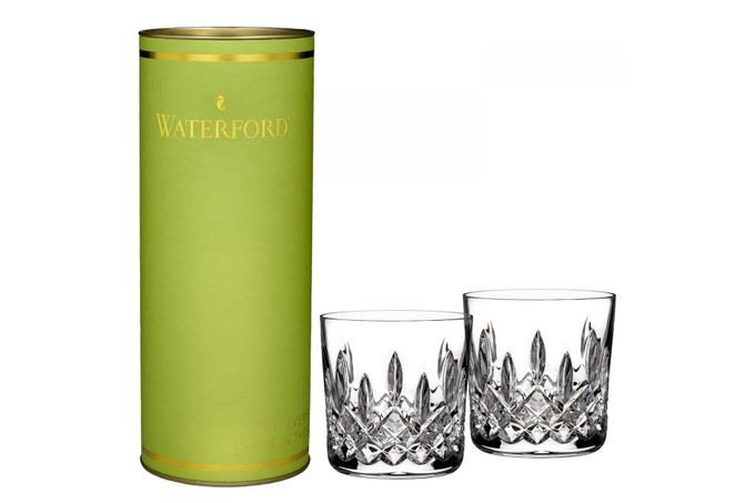 Waterford Giftology Pair of Tumblers Lismore 9oz Old Fashioned