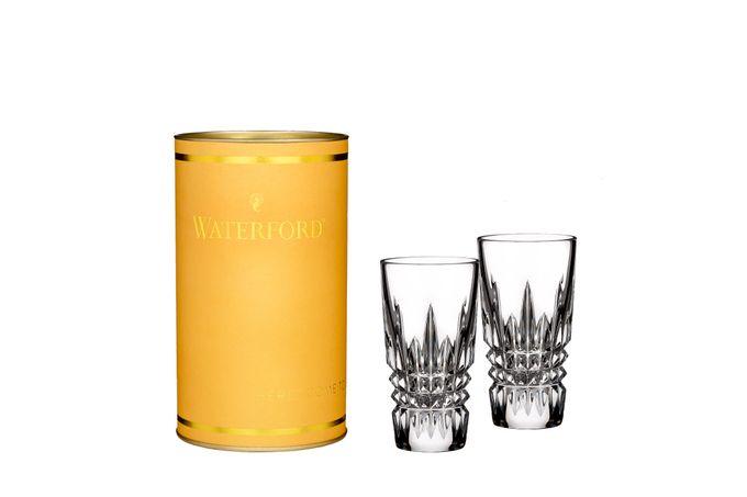 Waterford Giftology Pair of Shot Glasses Lismore Diamond