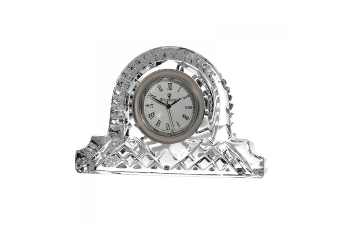 Waterford Lismore Classic Clock Large Cottage Clock 12cm