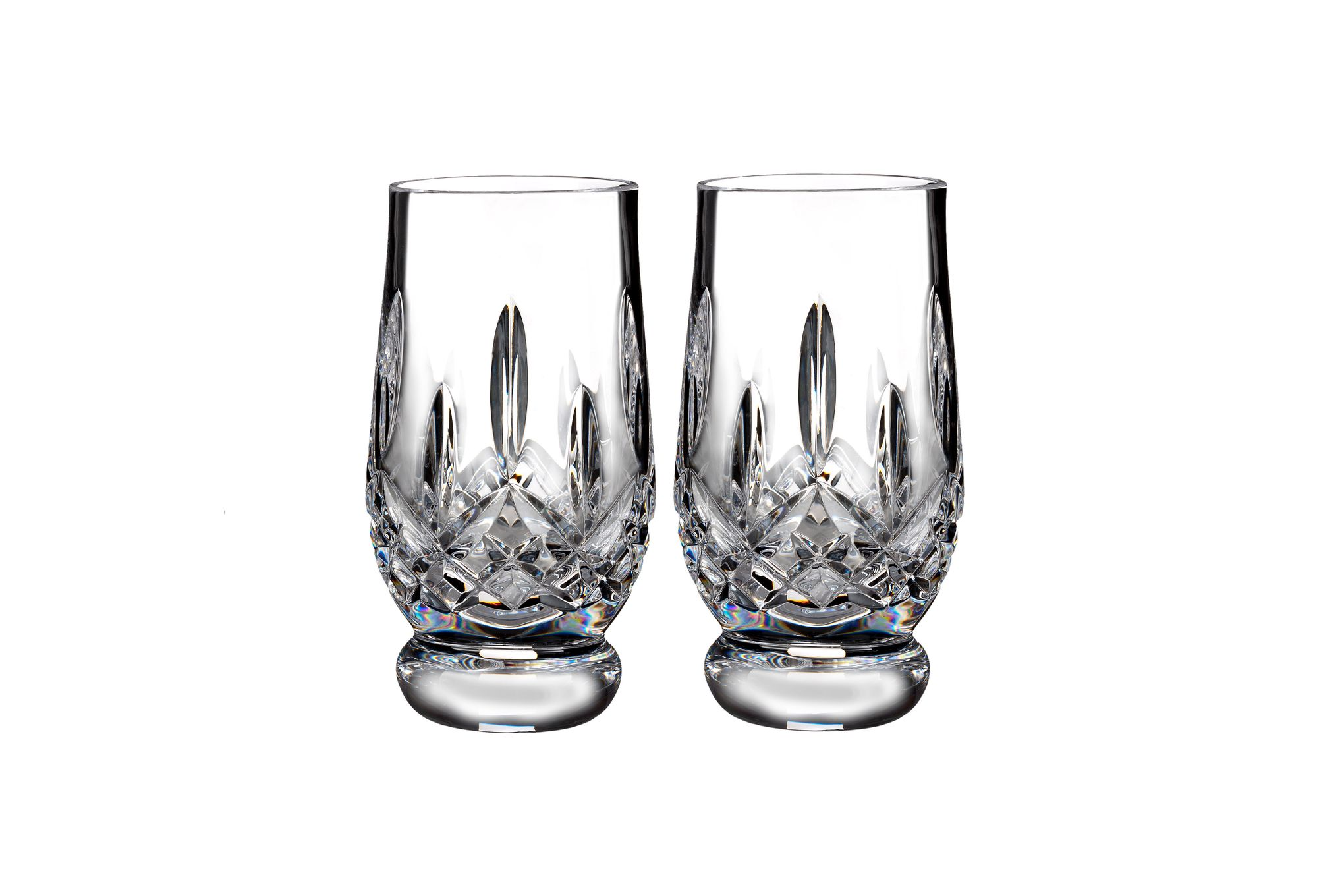 Waterford Lismore Connoisseur Collection Pair of Tumblers 7oz Tasting Footed Tumbler thumb 1