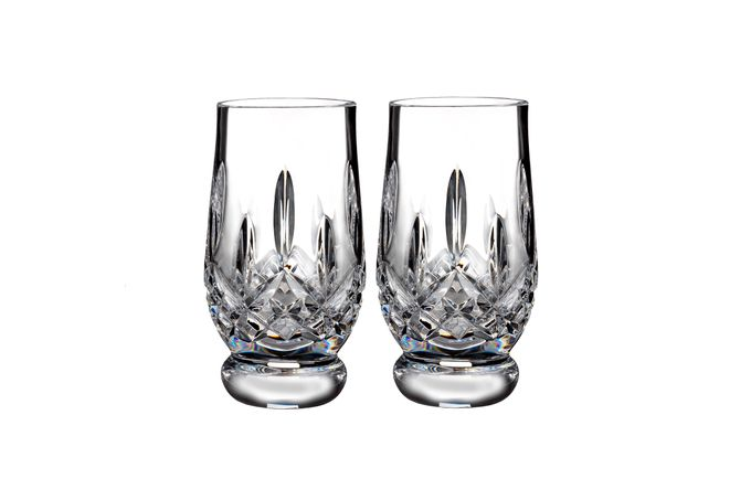 Waterford Lismore Connoisseur Collection Pair of Tumblers 7oz Tasting Footed Tumbler