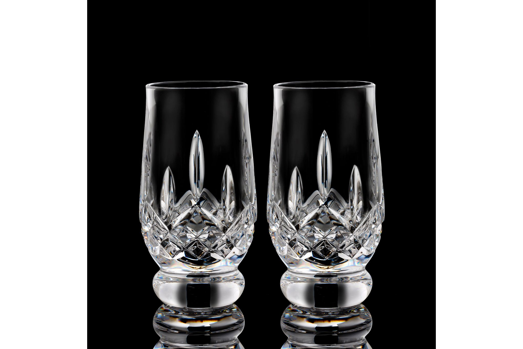 Waterford Lismore Connoisseur Collection Pair of Tumblers 7oz Tasting Footed Tumbler thumb 2