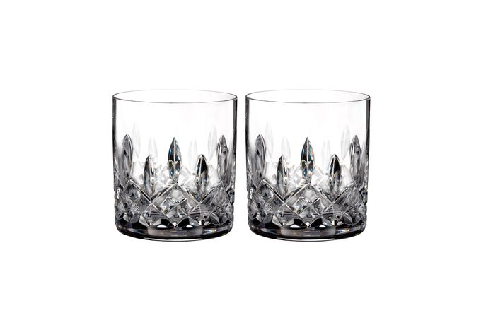 Waterford Lismore Connoisseur Collection Pair of Tumblers 7oz Straight