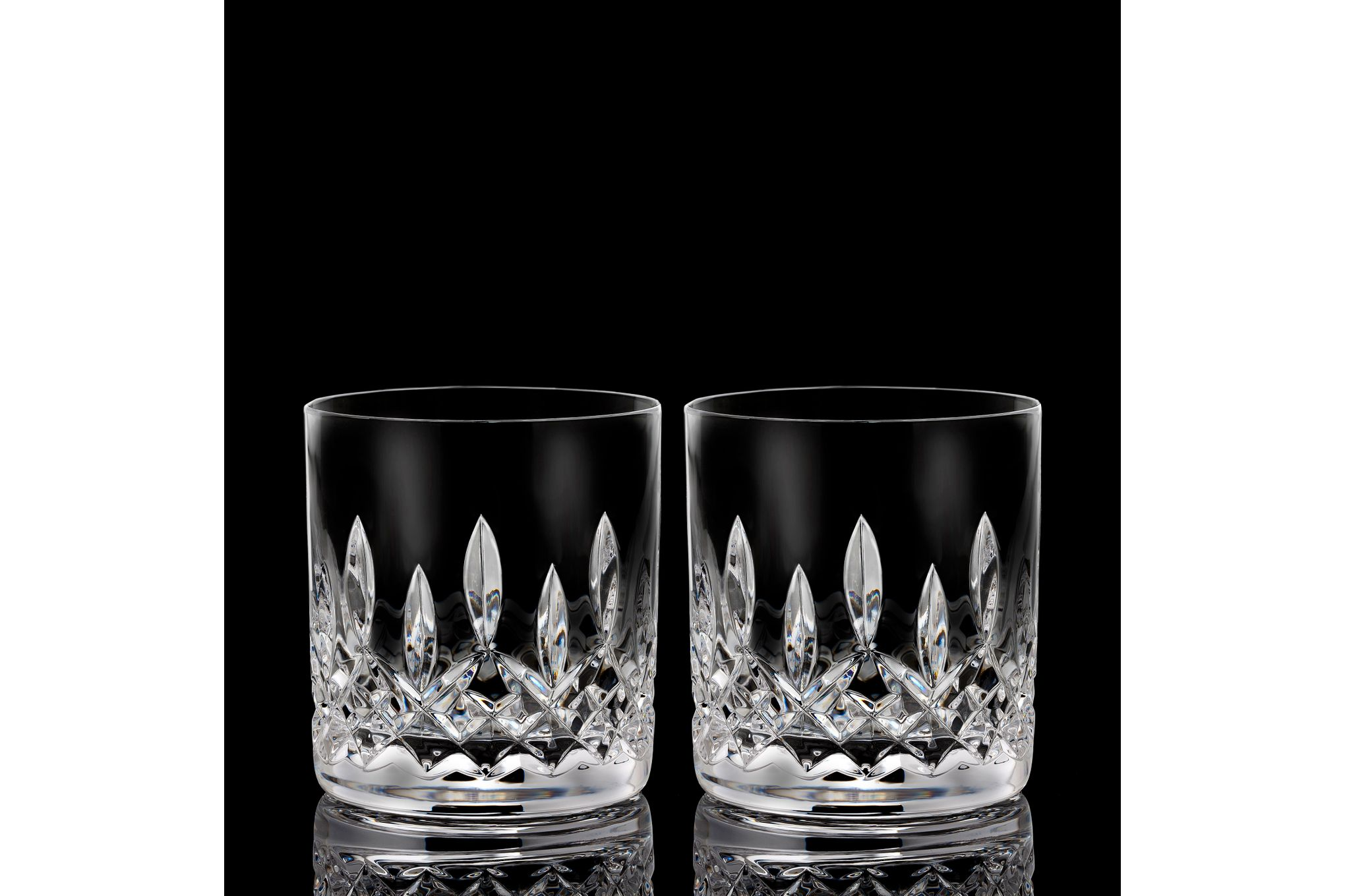 Waterford Lismore Connoisseur Collection Pair of Tumblers 7oz Straight thumb 2