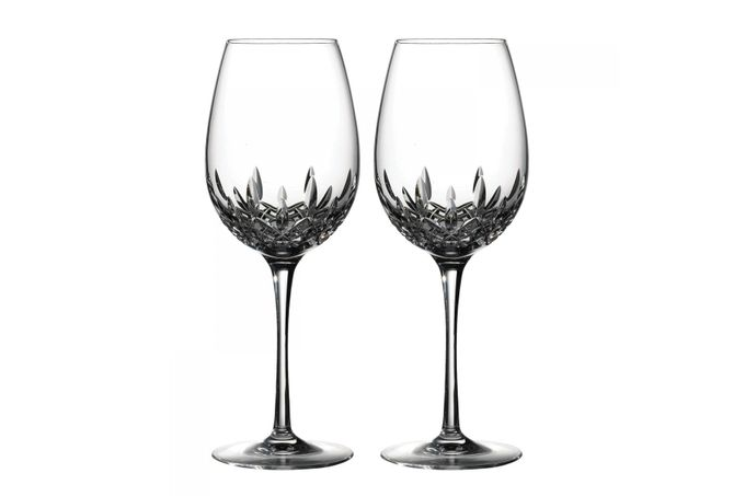 Waterford Lismore Essence Pair of Red Wine Glasses 26.3cm