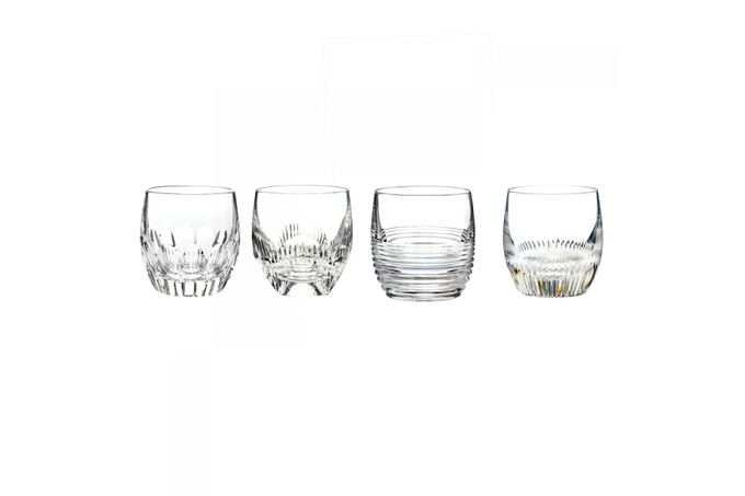 Waterford Mixology Set of 4 Tumblers Double Old Fashioned