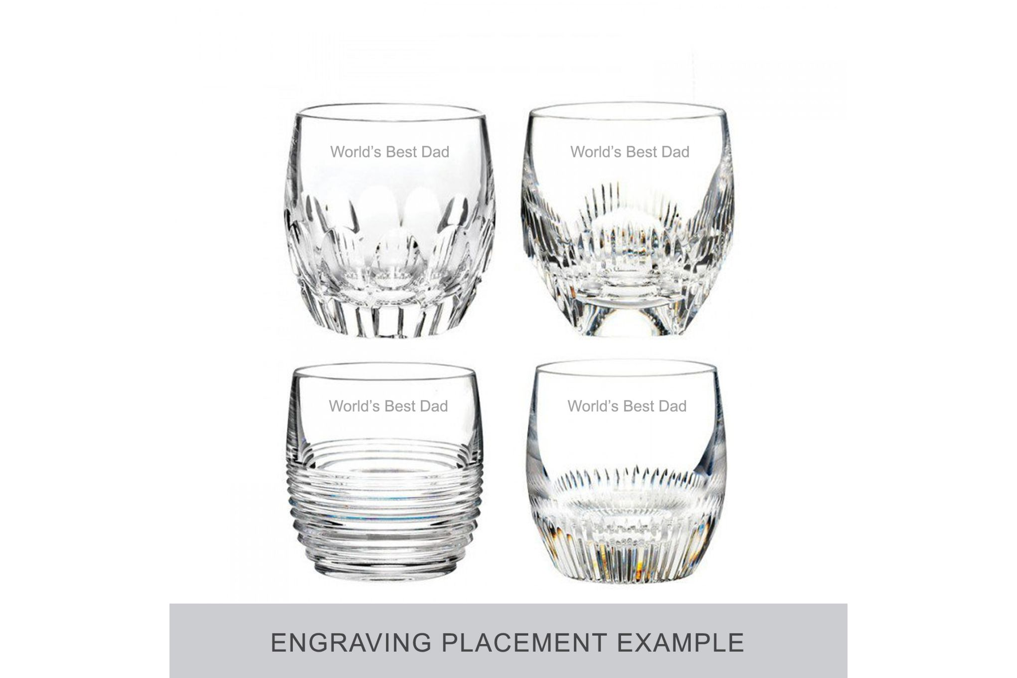 Waterford Mixology Set of 4 Tumblers Double Old Fashioned thumb 2