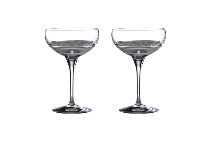 Waterford Mixology Coupe Glass - Set of 2 12.1 x 18cm, 415ml