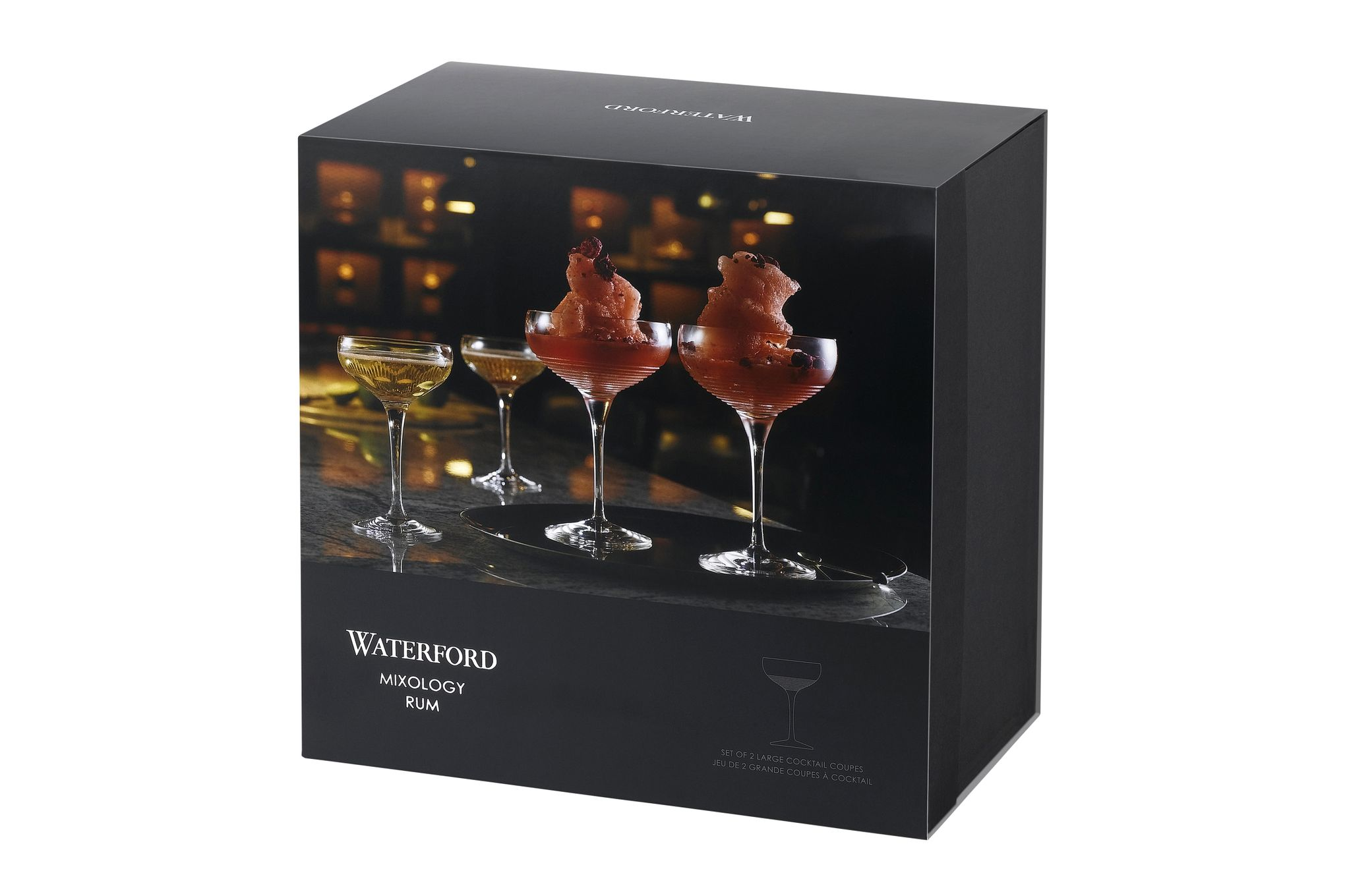 Waterford Mixology Coupe Glass - Set of 2 12.1 x 18cm, 415ml thumb 2