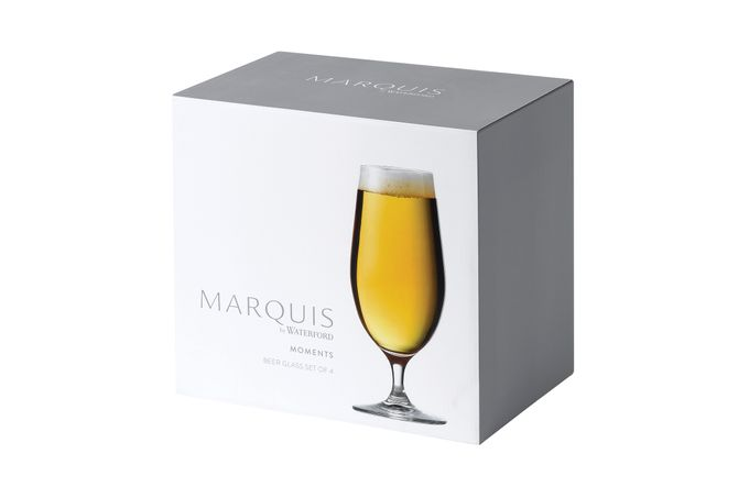 Waterford Marquis Moments Beer Glass - Set of 4 460ml