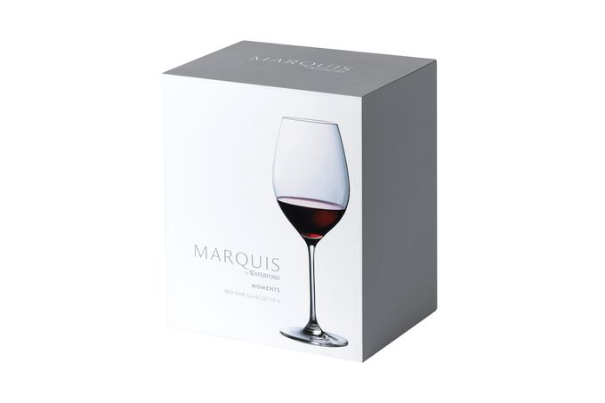 Waterford Marquis Moments Set of 4 Red Wine Glasses 580ml