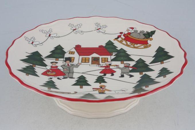 "Masons Christmas Village Comport Small 6 x 1 3/4"""