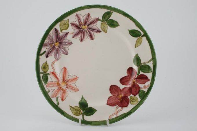"Masons Clematis Breakfast / Salad / Luncheon Plate 8 3/4"""