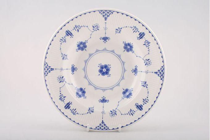 """Masons Denmark - Blue Rimmed Bowl 9"""""""