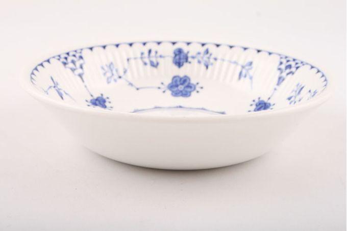 "Masons Denmark - Blue Fruit Saucer 5"""