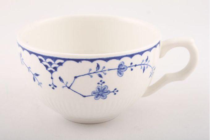 "Masons Denmark - Blue Teacup No flower inside cup 3 5/8 x 2 1/4"""