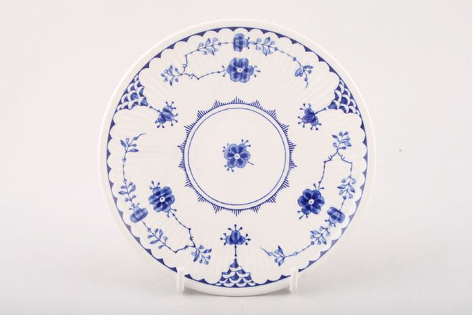 """Masons Denmark - Blue Tea Saucer 5 1/2"""""""