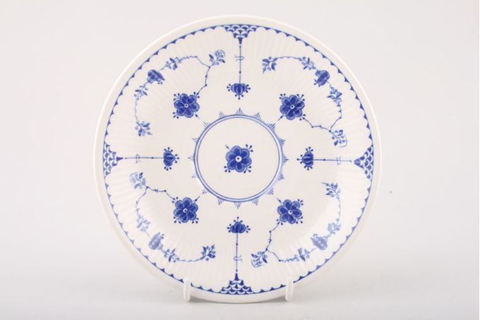 """Masons Denmark - Blue Breakfast Saucer Also for Soup Cup (Depth of saucer may vary) 6 3/8"""""""