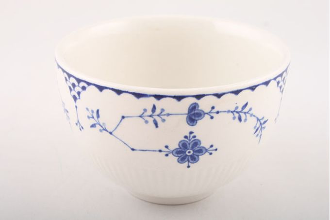 Masons Denmark - Blue Sugar Bowl - Open (Tea) 4""