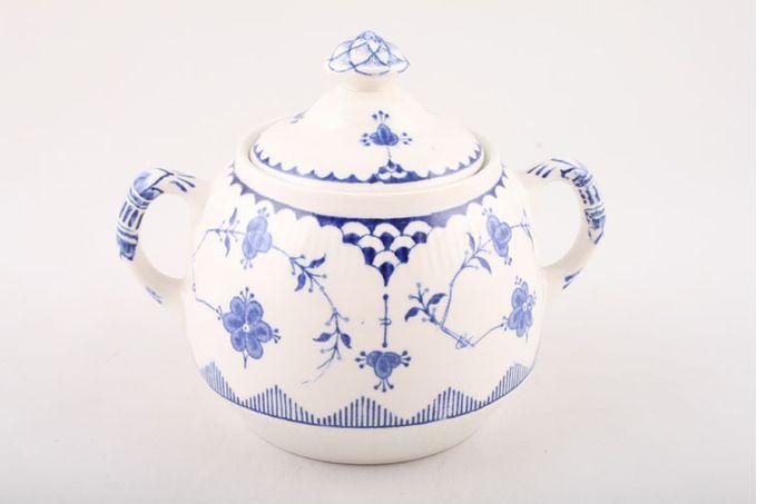Masons Denmark - Blue Sugar Bowl - Lidded (Tea)