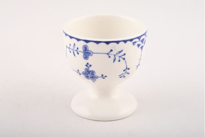 """Masons Denmark - Blue Egg Cup footed 1 7/8 x 2"""""""