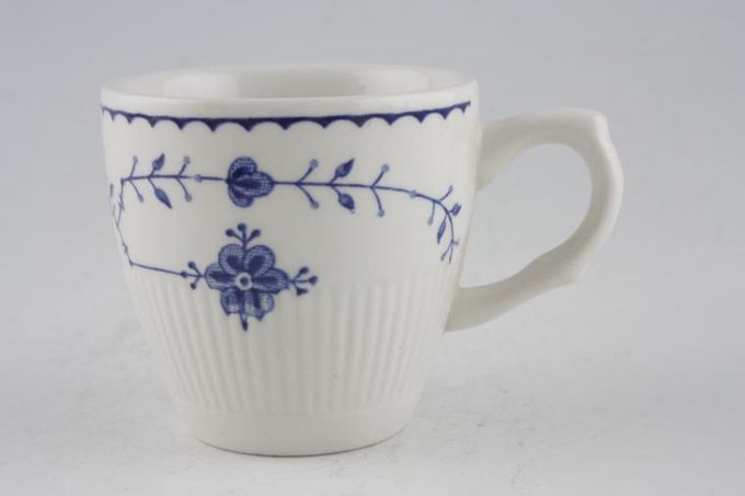 Masons Denmark - Blue Coffee Cup May not have backstamp. 2 3/8 x 2 1/4""