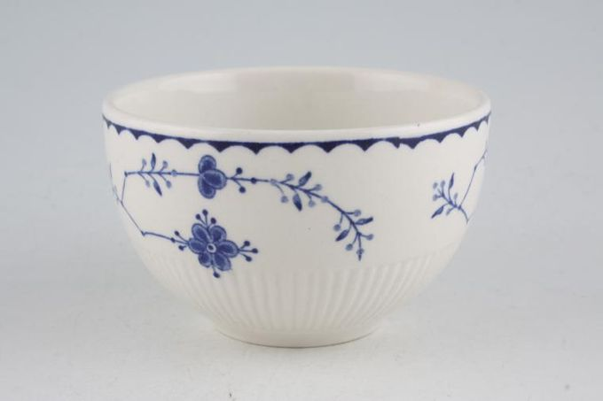 """Masons Denmark - Blue Sugar Bowl - Open (Coffee) 3 5/8"""""""