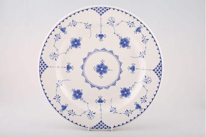 "Masons Denmark - Blue Platter Round 12"""