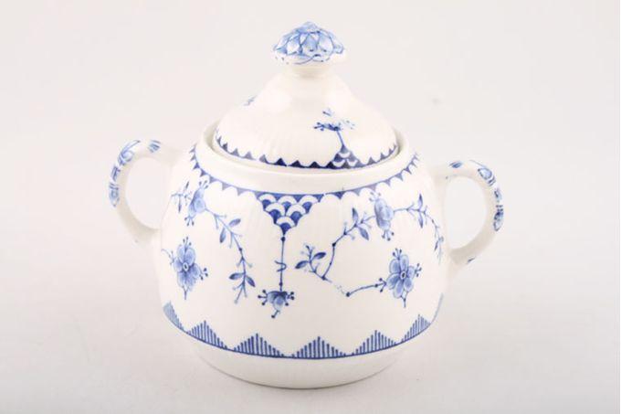 Masons Denmark - Blue Sugar Bowl - Lidded (Coffee)