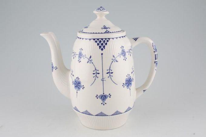Masons Denmark - Blue Coffee Pot 2pt