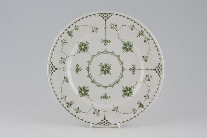 "Masons Denmark - Green Breakfast / Salad / Luncheon Plate 9"""