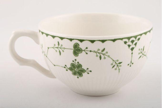 """Masons Denmark - Green Teacup 3 5/8 x 2 3/8"""""""