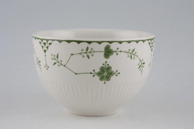 """Masons Denmark - Green Sugar Bowl - Open (Tea) 4"""""""