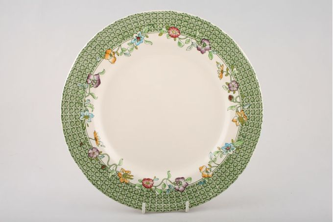 Masons English Country Garden Dinner Plate 10 1/2""