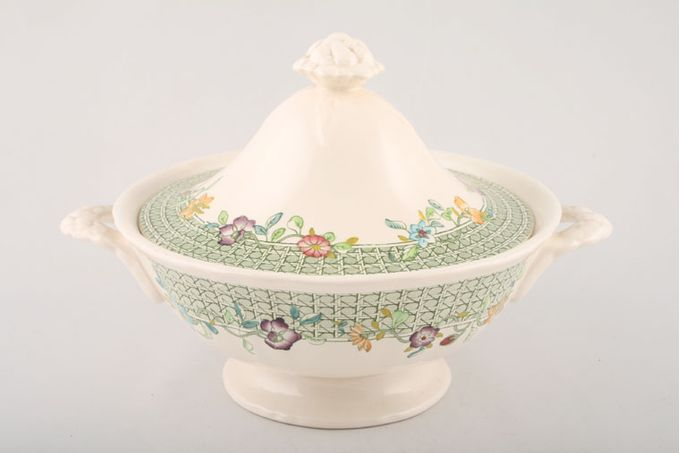 Masons English Country Garden Vegetable Tureen with Lid