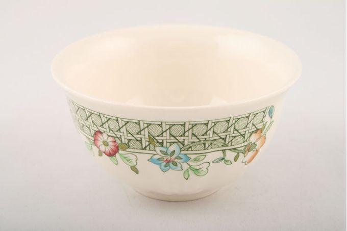 """Masons English Country Garden Sugar Bowl - Open (Coffee) 4"""""""