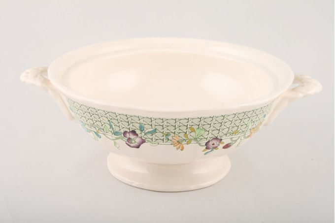 Masons English Country Garden Vegetable Tureen Base Only