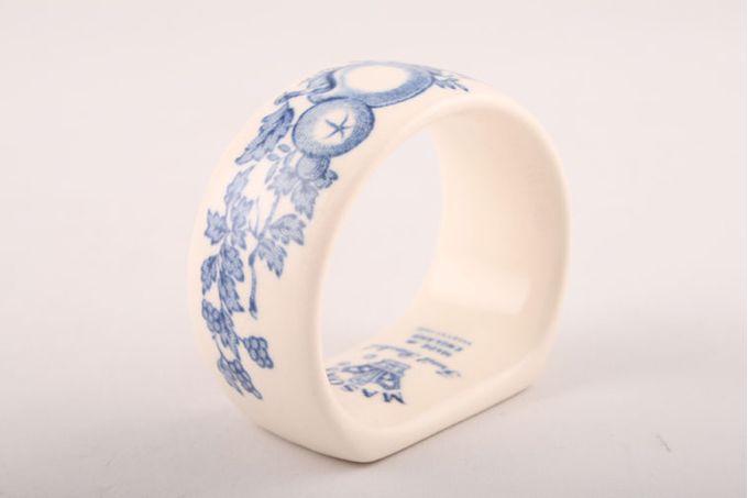 Masons Fruit Basket - Blue Napkin Ring