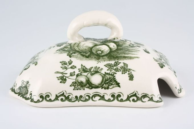 Masons Fruit Basket - Green Sauce Tureen Lid