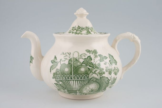 Masons Fruit Basket - Green Teapot 2pt